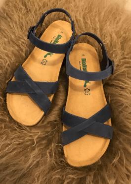 f733cb8fc069 BioNatura Sandal Style 12 Fregene Blå Sandal - Sebtohouse