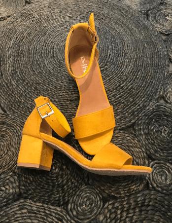 fd5d025d032 Duffy Sandal Style 97-18551 Gul Sandal - Sebtohouse